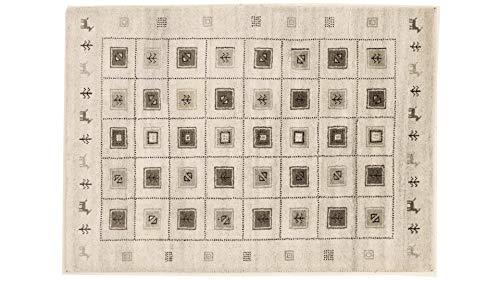 Lori Gabbeh Handloom Teppich 174x126 cm Handgewebt 180 x 120 cm Beige