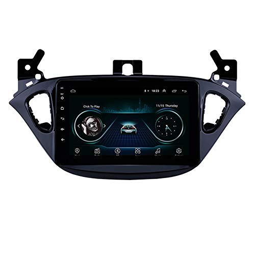 Radio da 8 pollici per Android 9.0 Auto per navigazione GPS per auto nel cruscotto per Opel Corsa 2015-2019 / Opel Adam 2013-2016