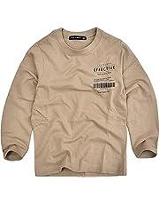 (シスキー) SHISKY 長袖 Tシャツ ロンT キッズ ジュニア 男の子 女の子 プリント ロングTシャツ 子供服