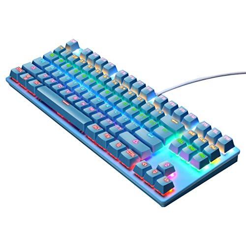yin Mechanische Tastatur Grüne Achse 87-Tasten-Gaming-Tastatur