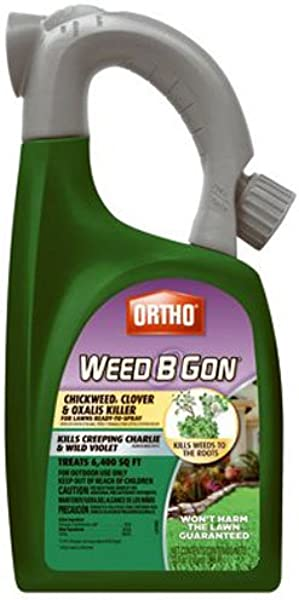 Ortho B Gon Chickweed Clover Oxalis Weed Killer For Lawns RTS Trigger