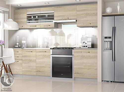 Muebles de Cocina Marika Sonoma 240 cm