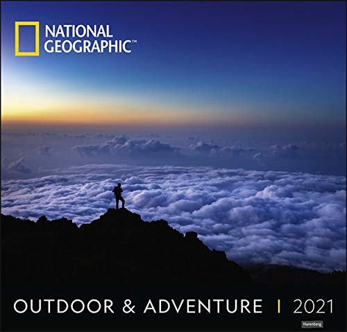 Outdoor & Adventure National Geographic Kalender 2021