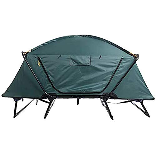 Massage-AED Elevated Camping Tent, Camping Bed,Folding Outdoor Camping Off-Ground Tent with Carry Bag for Camping,Hiking,Fishing