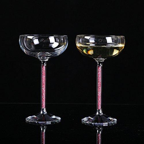 JARONG Tasse À Vin Rouge Vin Champagne Cristal Cadeau De Mariage