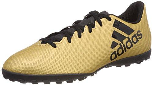 adidas X Tango 17.4 Tf, Scarpe da Calcio Uomo, Oro (Tagome/Cblack/Solred Tagome/Cblack/Solred), 40 2/3 EU
