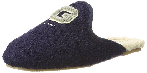 GANT Footwear Damen Lazy Pantoffeln, Blau (Marine), 38 EU