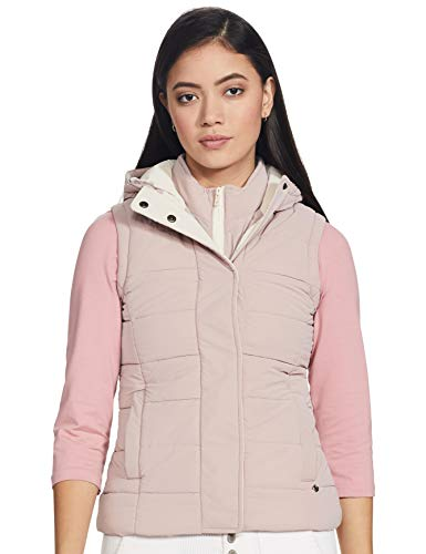 Monte Carlo Womens Sleeveless Hood Jacket (220049807-1_Red_38)