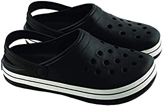 Hush Berry Breathable Hole Beach Clog for Men