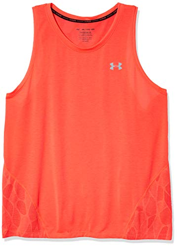 Under Armour Men's Streaker 2.0 Shift Running Singlet, Beta (628)/Reflective, X-Large