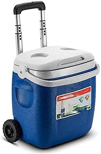 HTL Caja de Alenamiento de Alimentos, 36X27X38.5Cm 2L Enfriador de Rodillos Enfriadores Portátiles de Vino Cubiertas de Hielo S Cajas de Pesca para Refrigerador para el Hogar Camping Al Aire Libre7