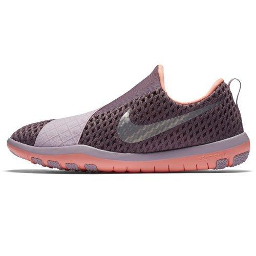 Nike Damen WMNS Free Connect Trainingsschuh Laufschuhe, Violett (Purple Schatten/Bright Mango Orange/Pflaumennebel/Metallic Silber), 40.5 EU
