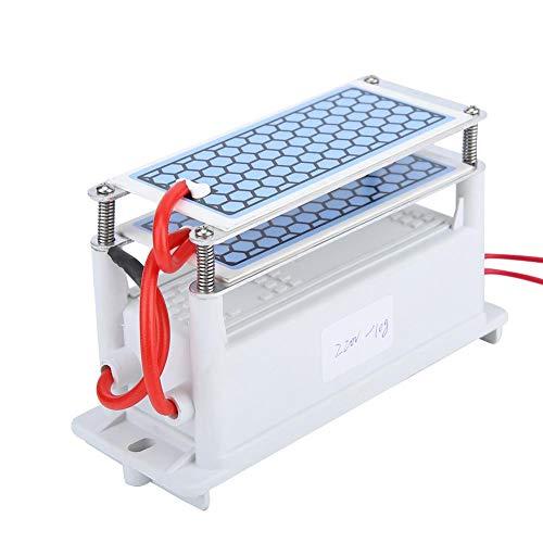 220v 10g/h Generador de Ozono, Generador de Ozono de Cerámica Doble Placa Integrada Ozonizador Purificador de Aire de Agua Máquina de Esterilización Por Desinfección de Ozono