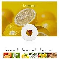 SHUHAO 6 PCS.ソリッドカーの香水車の芳香剤サプリメントカーエアコン詰め替え自動エアーアウトレット香水 (Color : Lemon Smell)
