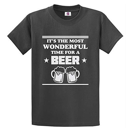 Graphic Impact Grappig Het is een geweldige tijd voor een bier dronken drinken bier liefhebber t-shirt