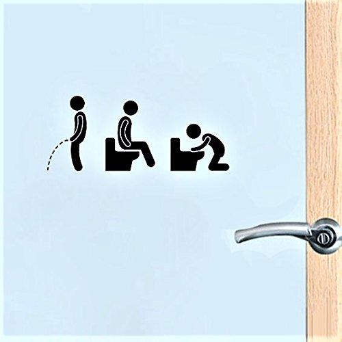 - Homeworld- grappige stickers voor de toiletdeur in de WG, het clublokaal of in de kroeg. Sticker WC-deur, toiletbord #11