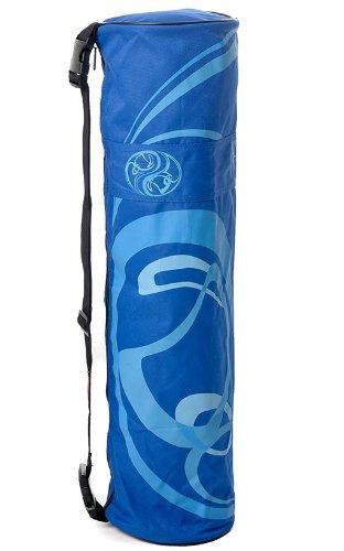 Yogamatten Tasche Yogamatten Aufbewahrung Yoga Zubehör Tragetasche blau