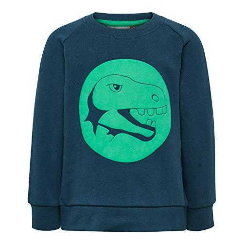 Lego Wear Duplo Boy Lwsirius 654-Sweatshirt Sweat-Shirt, Vert (Dark Khaki 889), 92 Bébé garçon
