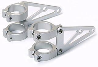 42mm/43mm CNC Brushed Aluminium Fork Mounted Motorcycle Motorbike Headlight Brackets