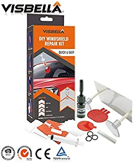 Visbella DIY Windshield Repair Kit Car Windscreen Glass renwal Tools Auto Windshield Scratch Crack Restore Car Care Repair Kit