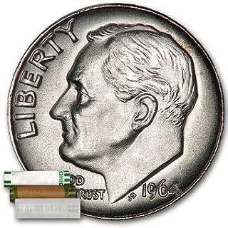 2009 P BU OBW Roosevelt Dime Roll 50 Uncirculated Philadelphia coins
