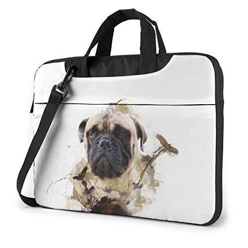 XCNGG Bolso de hombro Computer Bag Laptop Bag, Snow Bears Panda Briefcase Protective Bag 14 inch