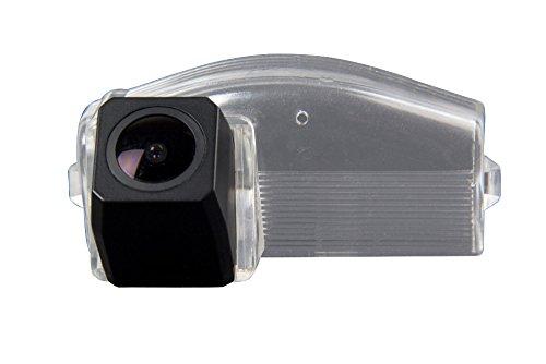 Kalakus Coche Universal de Visión Trasera Cámara en luz de la matrícula CCD Chip Revertir Asistencia de Copia de Seguridad de la Cámara de Aparcamiento para Mazda 2/Mazda 3 from 2007 to 2013