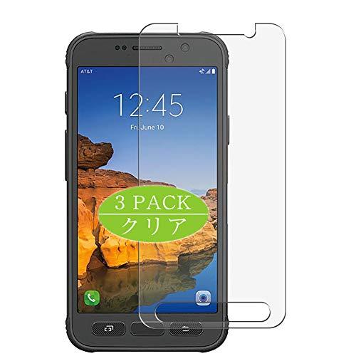 Vaxson Protector de pantalla de 3 unidades, compatible con Galaxy S7 Active, protector de película de TPU [no protectores de vidrio templado]