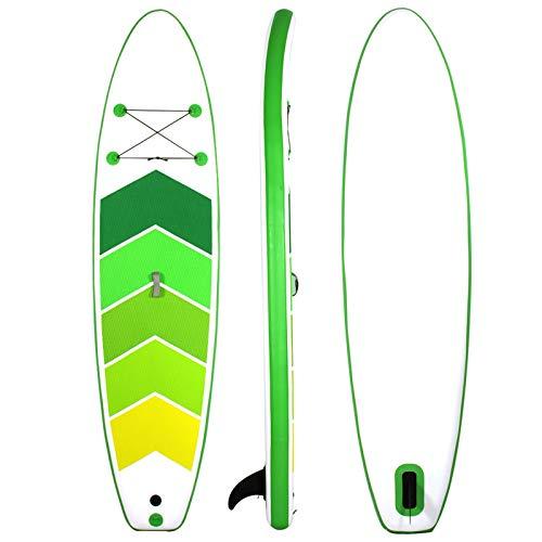 Tabla De Stand Up Paddle Surf Inflable 305 * 76 * 15Cm Cubierta Antideslizante con Accesorios De Sup Postura Ancha, Aletas Inferiores para El Control del Surf Juveniles Adultos Principiantes,B