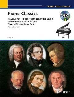 PIANO CLASSICS - arrangiert für Klavier - mit CD [Noten / Sheetmusic] aus der Reihe: SCHOTT PIANO CLASSICS