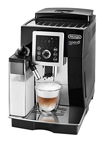 【スタンダードモデル】デロンギ(DeLonghi)コンパクト全自動コーヒーメーカー ブラック マグニフィカ S カプチーノ スマート ECAM23260SBN