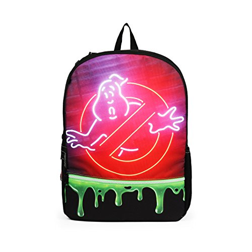 Mojo Ghostbusters Slime Fashion Green 16 Inch Backpack