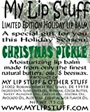 My Lip Stuff-Christmas Pickle (Dill Pickle Flavor) Limited Edition Holiday Lip Balm
