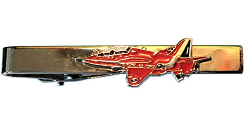 RAF Red Arrows Royal Air Force BAE Hawk Jet Aircraft Pince à cravate en métal émaillé