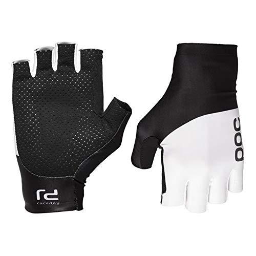 POC Raceday Aero Handschuhe, Unisex, Erwachsene S Weiß/Schwarz (hydrogen White/Uranium Black)