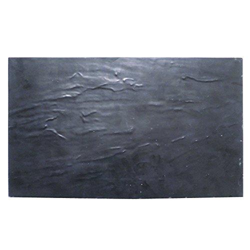 Garcia de pou Plateaux Gn 1/4 Imitation Ardoise 26,5X16 Cm Noir Melanine - 6 unités
