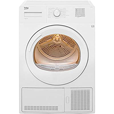 Beko DTGC8011W 8Kg Condenser Tumble Dryer - White