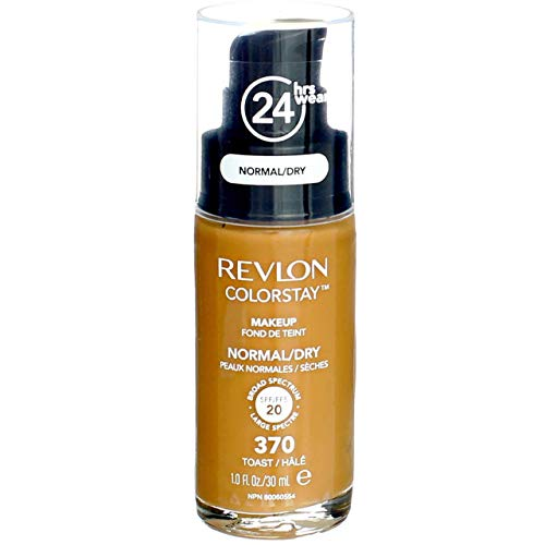 Revlon ColorStay Makeup 370 Toast 30 ml Normal/Dry Skin NEU