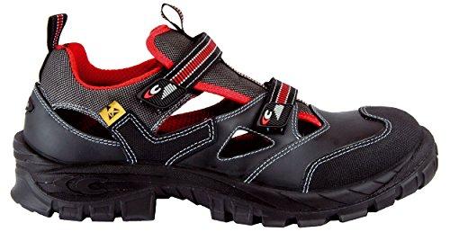 Cofra Zapatos de Seguridad Guttorm , Sandalias de Verano, Negro, 38 EU