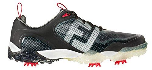 FootJoy Freestyle - Zapatos de golf para hombre, color negro / blanco...