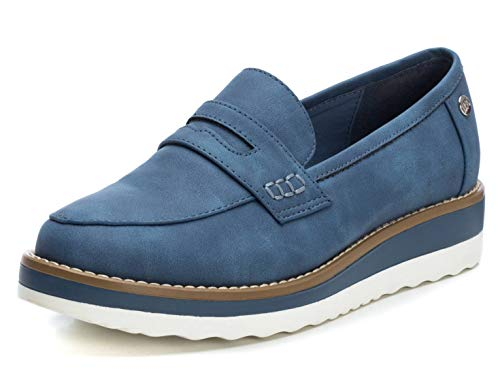XTI Zapato Mocasín XTI044020 Mujer Azul