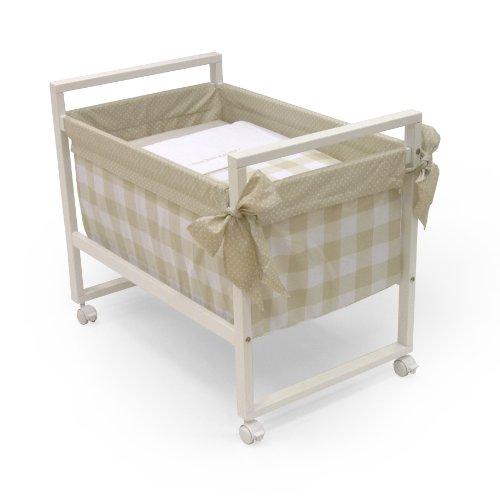 Cambrass Bebe - Minicuna, 56 x 90 x 73 cm, color beige