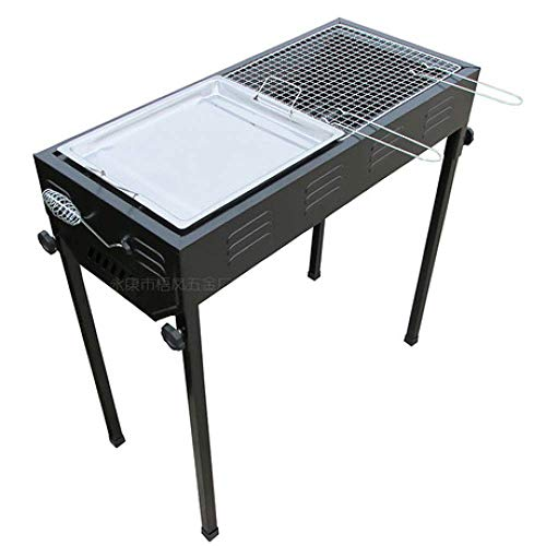 Affordable Nhlzj BBQ Supplies/Barbecue Easy Barbecues Set Barbecue Furnace Black Field Charcoal Barb...