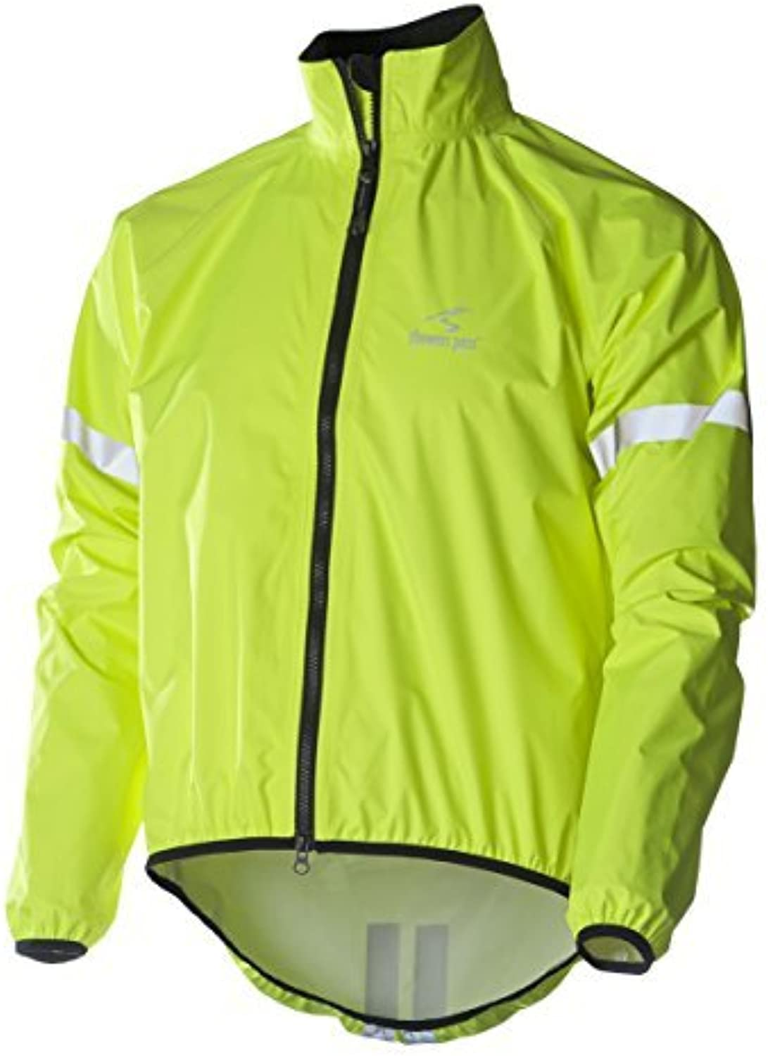 Showers Pass Men's Storm Jacket, Neon Yellow, X-Small by Showers Pass
