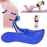 Clip per Allenatore dell'anca, Esercitatore per Pavimento pelvico, Attrezzo per Esercizi con La Coscia Braccio dispositivo di allenamento Strumenti per il fitness Strumenti di formazione 1pcs(Blu)