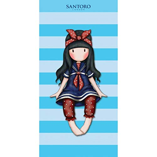 Halantex Gorjuss Santoro - Diseñador Toalla de Baño, 70x140 CM