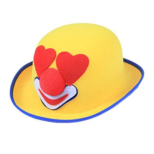 BESTOYARD Sombrero de Payaso de Carnaval Sombrero Lindo no Tejido ...