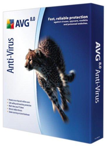 AVG Anti-Virus 8.0, 2 Years Subscription (PC) [Import anglais]