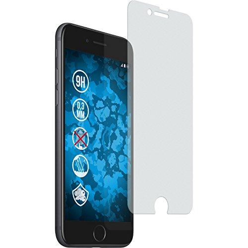 PhoneNatic 2 x Glas-Folie matt kompatibel mit Apple iPhone 7/8 / SE 2020 - Panzerglas für iPhone 7/8 / SE 2020