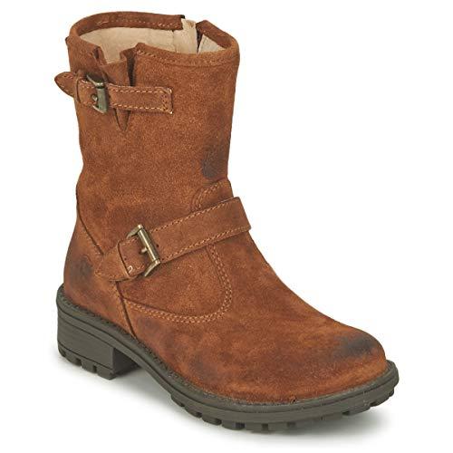 Naturino Stiefelletten/Boots Madchen Stein/Kaffee - 31 - Boots